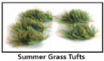 PSG-50 Peco Scene Static Grass 4mm Summer Grass Tufts (100)